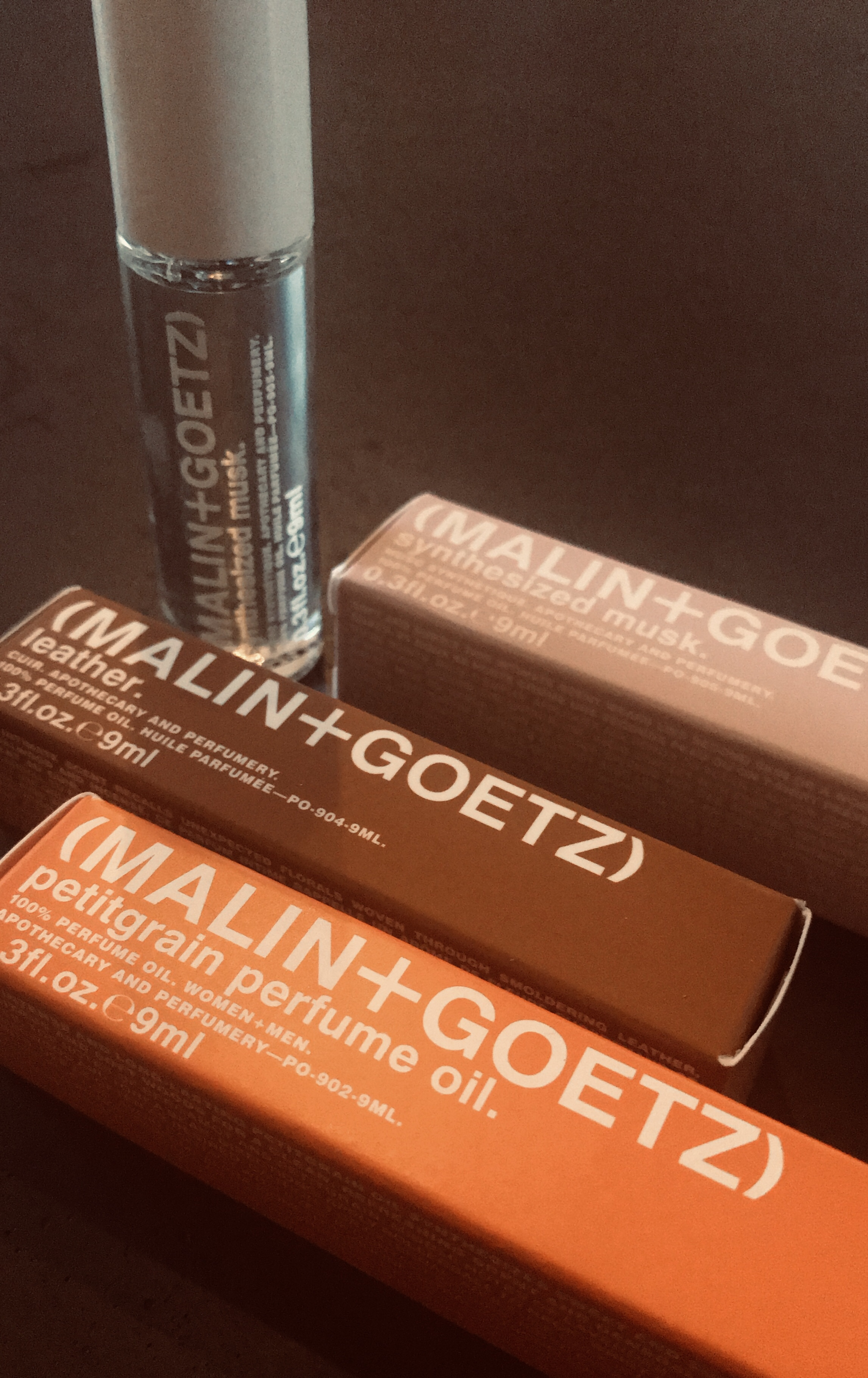 LISA LOVES . . . MALIN + GOETZ PERFUME OIL